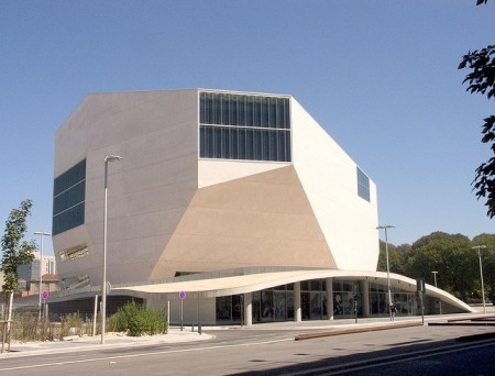 Casa da Musica. Architect: Rem Koolhaas. Location: Porto, Portugal.
