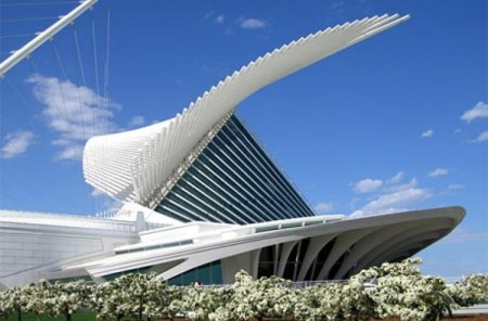 Quadracci Pavilion, Minneapolis Art Museum (2001). Architect: Santiago Calatrava. Location: Minneapolis, Minnesota.