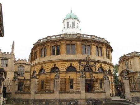 Sheldonian Hall. Christopher Wren. Oxford, UK.
