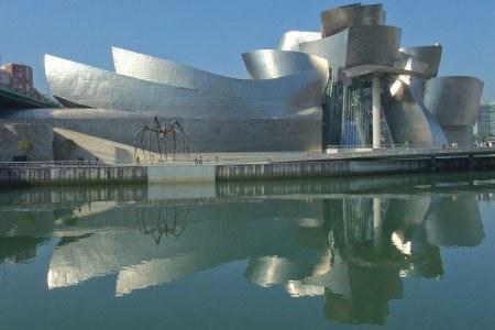 Frank Gehry designed the Guggenheim Museum in Bilbao, Spain.