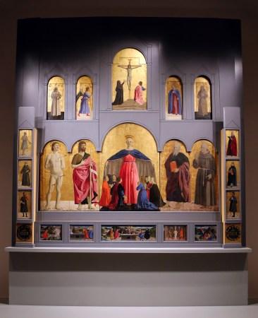 The Madonna Misericordia altarpiece in Sansepolcro.