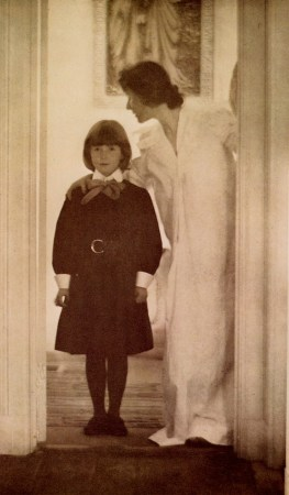 Blessed Art Thou Among Women is a photograph by Pictorialist photographer Gertrude Käsebier.
