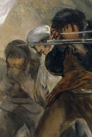 Detail from Goya's Third of May, 1808.