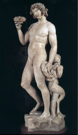 Michelangelo created his statue of Bacchus in 1497.