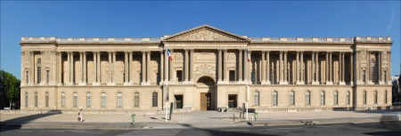 Claude Perrault designed the easternmost façade of the Palais du Louvre, which is known as Perrault's Colonnade.