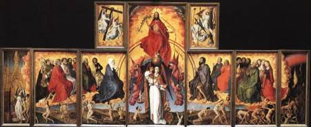 The Last Judgment, a polyptych and altarpiece painted by Rogier van der Weyden.