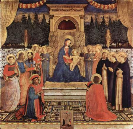 The San Marco Altarpiece, by Fra Angelico.