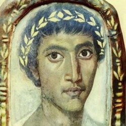 An undated painting of Catullus.