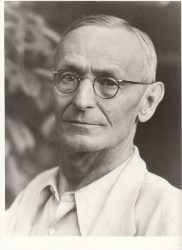 An undated photo of Hermann Hesse.