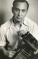 Self Portrait with Camera, by André Kertész (1936).