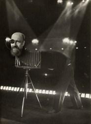 A 1954 self portrait by Angus McBean.