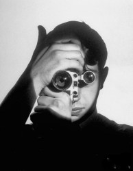 """""""The Photojournalist"""" is a 1951 portrait of Dennis Stock by Andreas Feininger."""