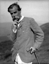 An undated photograph of George Davison by Alvin Langdon Coburn.