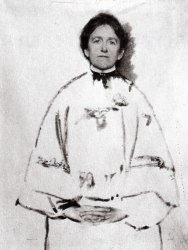 Portrait of the Photographer, a manipulated self-portrait of Gertrude Käsebier c. 1899.