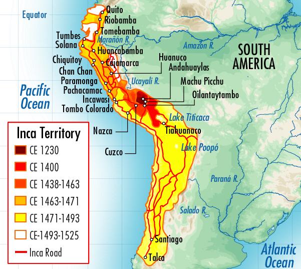 The Incan Empire.