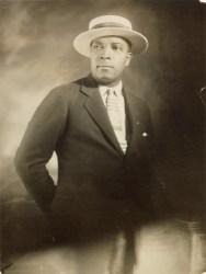 An undated photograph of James Van Der Zee.