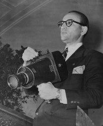 An undated photograph of Associated Press photographer Murray Becker.
