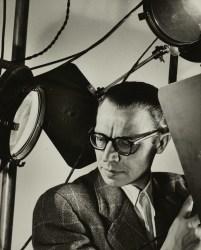 A 1949 self portrait of Otto Steinert.