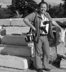 An undated photograph of Philip Jones Griffiths.