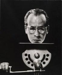 A 1950 self portrait by Philippe Halsman.