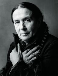 A 2000 photograph of Mary Ellen Mark by Chris Felver/Getty Images.