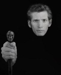 A 1988 self-portrait by Robert Mapplethorpe.