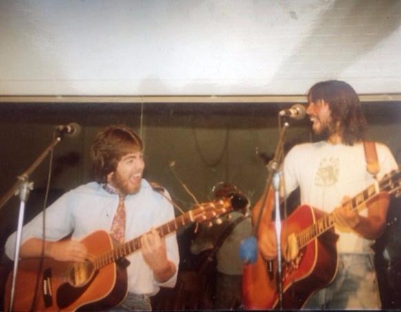 bruce & john at the cat 2 spring 1982