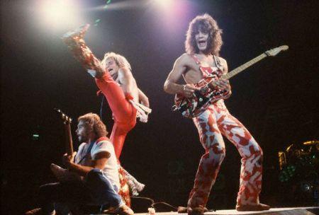 Musical Group Van Halen Performing