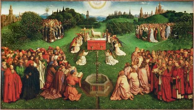adoration of the lamb