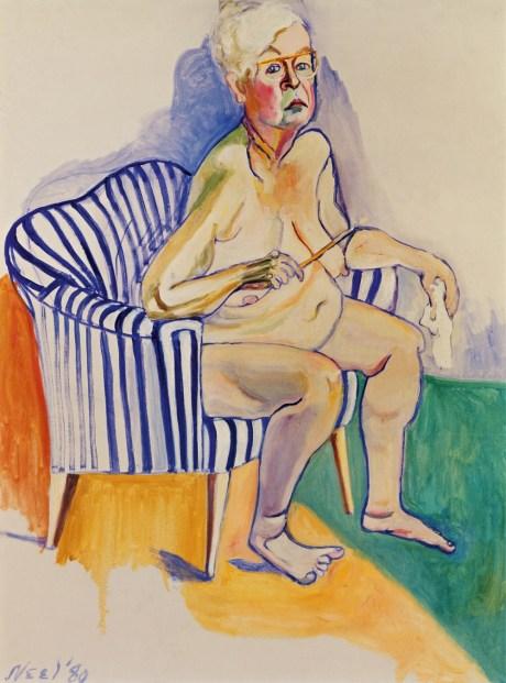 alice-neel-self-portrait-1980