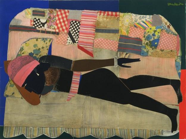 Bearden - Patchwork Quilt (1970) MOMA