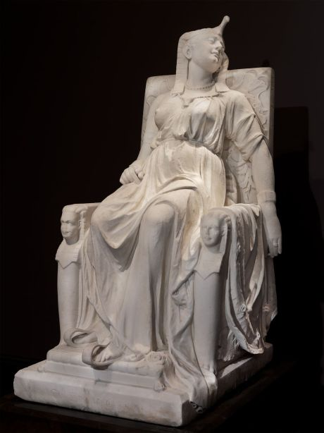 Lewis - The Death of Cleopatra (1876) Smithsonian
