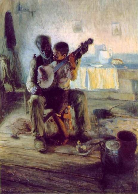 Tanner - The Banjo Lesson (1903) Hampton University