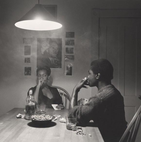Weems - Untitled (man smoking) (1990)