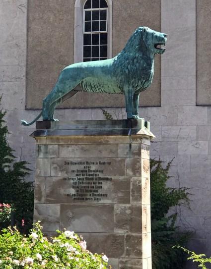 29A1 Brunswick Lion (original 1166, replica 1900-03) Adophus Busch Hall, Cambridge, MA
