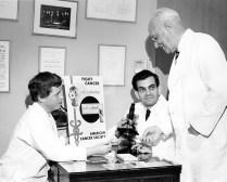 Adele Croninger, Ernst Wynder and Evarts Graham