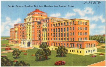 Brooke General Hospital, Fort Sam Houston, San Antonio, Texas