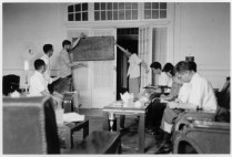 Wes Clark leading a meeting with Chinese computer scientists, 1972Wes Clark leading a meeting with Chinese computer scientists, 1972Wes Clark leading a meeting with Chinese computer scientists, 1972Wes Clark leading a meeting with Chinese computer scientists, 1972Wes Clark leading a meeting with Chinese computer scientists, 1972Wes Clark leading a meeting with Chinese computer scientists, 1972