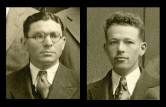Alfred Goldman, left, and Samuel B. Grant, right