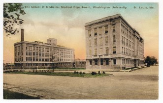 Washington University School for Medicine, circa 1915.