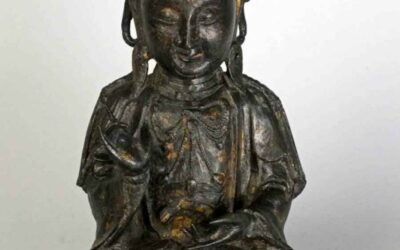 Bronze Figure of GUANYIN, Ming Dynasty