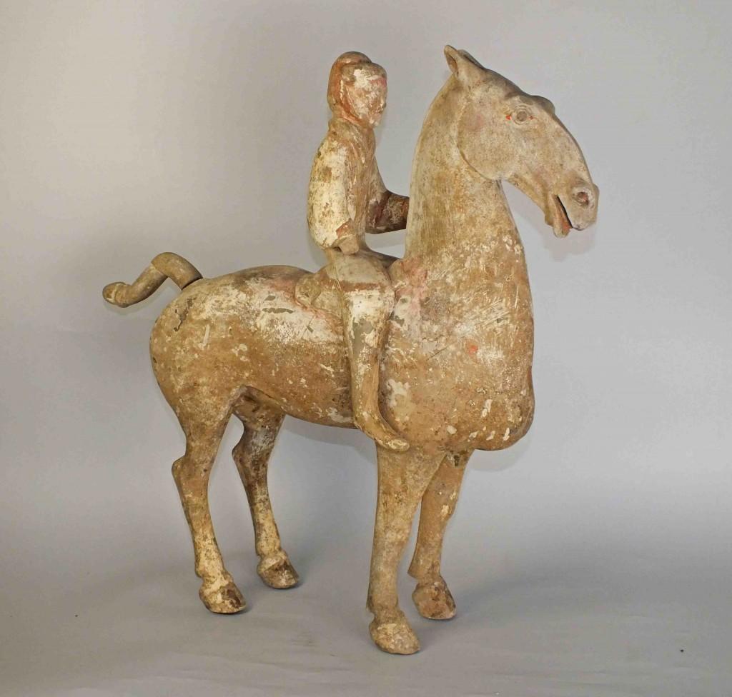 Han Dynasty Large Horse Rider