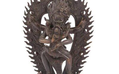 Inner Mongolian Bronze Mahakala