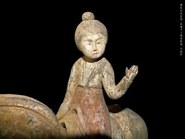 Tang-Horse-&-Detachable-Equestrian-Figure-4
