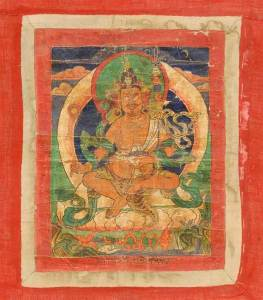 18TH C TIBETAN THANGKA