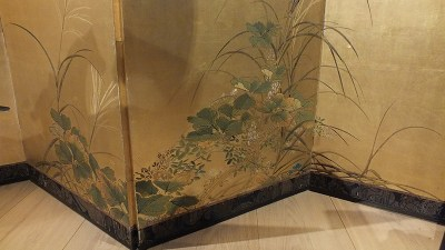 FINE JAPANESE FOLDING SCREEN (3)