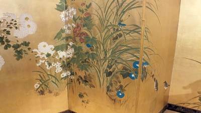 FINE JAPANESE FOLDING SCREEN (6)