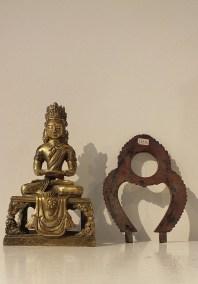 Gilt Bronze Figure of Amitayus (12)