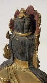 Gilt Bronze Figure of Amitayus (13)