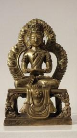 Gilt Bronze Figure of Amitayus (2)